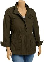 Old Navy Women's Plus Military-Style Canvas Jackets