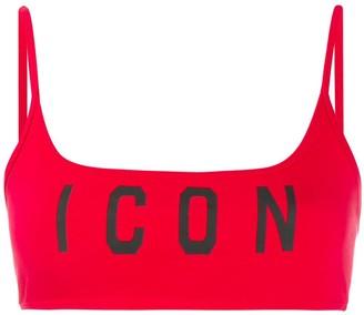 DSQUARED2 Icon sports bra