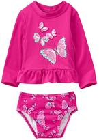 Gymboree Wings Rashguard Set
