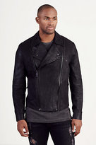 True Religion Russell Westbrook Double Zip Moto Jacket