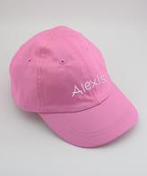 Princess Linens Pink Personalized Baseball Cap - Infant