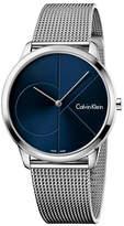 Calvin Klein Analog Minimal Mesh Bracelet Watch