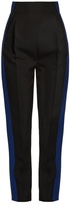 Haider Ackermann Orbai side-stripe high-waisted wool trousers