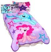 Hasbro My Little Pony Sparkle and Fly Micro Raschel Children Blanket