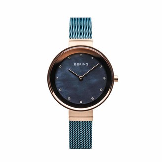 Bering Womens Analogue Quartz Watch with Stainless Steel Strap 10128-368