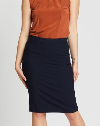 David Lawrence Women's Blue Pencil skirts - Stevie Pencil Skirt - Size One Size, 10 at The Iconic