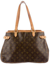 Louis Vuitton Monogram Horizontal Batignolles Bag