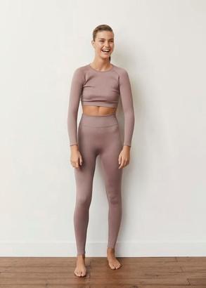 MANGO Seamless leggings