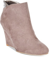 Thalia Sodi Lidiaa Wedge Booties, Only at Macy's