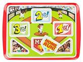 Home Run Plate Kids Plate Home Run Baseball Themed Childrens Meal Plate | Great For Portion Control | Your Kids Will Eat Better | Be A Winner & Hit A Home Run At Breakfast Lunch & Dinner. Promotes Healthy Eating!