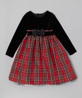 Good Lad Red Plaid Dress - Toddler & Girls