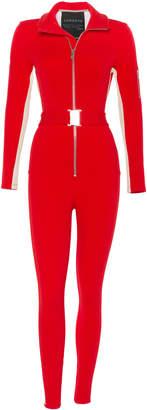 Cordova The Striped Stretch-Shell Snowsuit Size: L