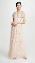 Needle & Thread Ruffle Glimmer Gown