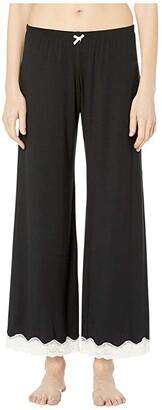 Eberjey Lady Godiva PJ Pant (Black/Off-White) Women's Pajama