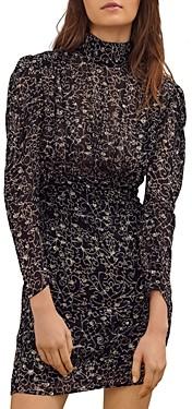 Thumbnail for your product : BA&SH ba & sh Acia Embroidered Mini Dress