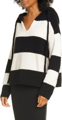 ATM Anthony Thomas Melillo Chenille Stripe Hoodie