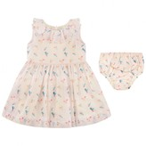 No Added Sugar No Added SugarPink Baby Dress With Knickers