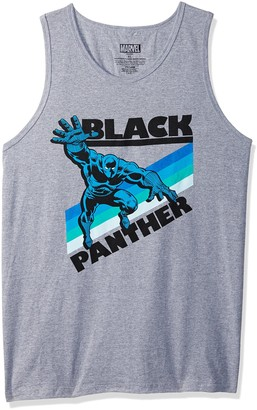 Marvel Official Retro Panther Men's Tank Top