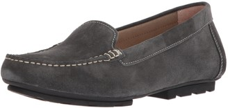 Blondo Women's Dale Waterproof Driving Style Loafer Dark Grey Suede 5.5 M US