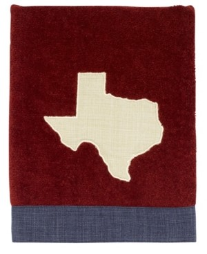 Avanti Texas Star Map Hand Towel Bedding