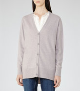 Reiss Tillie Wool And Cashmere Cardigan