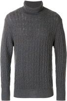 N.Peal cable cashmere jumper
