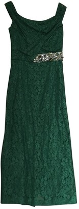 Burberry Green Lace Dresses