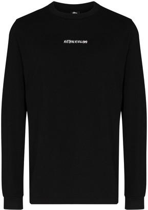Alyx x Stussy long-sleeve T-shirt