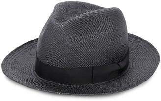 Yohji Yamamoto Woven Bow Detail Hat