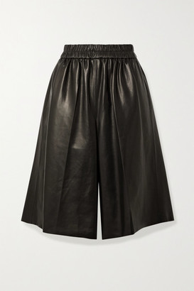 Tom Ford Leather Culottes - Black