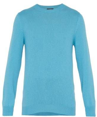 A.P.C. Colin Wool Blend Sweater - Mens - Blue