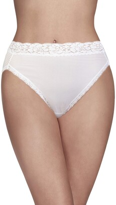 Vanity Fair Women's Body Caress Ultimate Comfort Collection Hicut Panty 13280