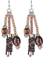 Saachi Clearwater Beaded Trio Earrings