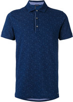 Paul & Shark floral embroidered polo shirt - men - Cotton - M