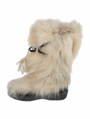 Gorsuch Marina Fur Boots wool