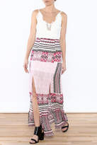JW Designs Printed Maxi Dress