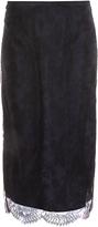 Rochas Lace Pencil Skirt