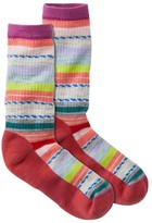 L.L. Bean L.L.Bean Women's Smartwool Margarita Hike Light Socks, Stripe