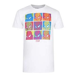 Marvel Men's POP Art Spidey T Shirt XXL,XX (Size:)