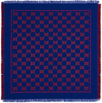 Gucci Children's GG lame shawl