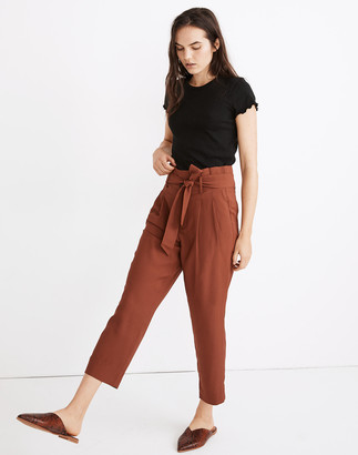 Madewell Drapey Paperbag Pants