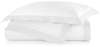 Peacock Alley Mandalay Cuff Duvet Cover - White King