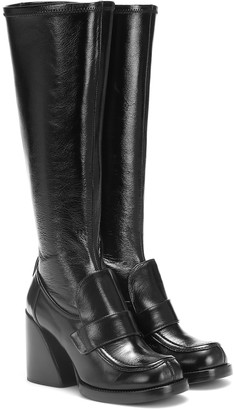 Chloé Adelie leather knee-high boots