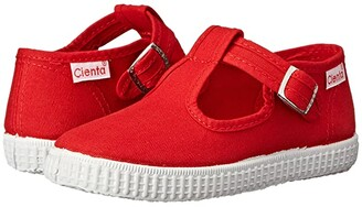 Cienta 51000 (Infant/Toddler/Little Kid/Big Kid) (Red) Girl's Shoes