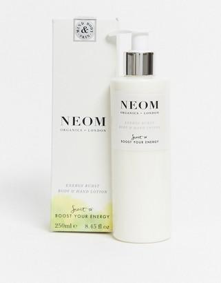 Neom Burst of Energy Grapefruit Lemon & Rosemary Body & Hand Lotion 250ml
