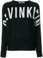 CK Calvin Klein logo intarsia jumper