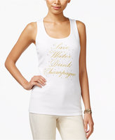 INC International Concepts Graphic Tank Top, Only at Macy's