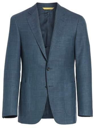 Canali Classic Fit Wool Blend Blazer