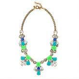 J.Crew Bright stone necklace