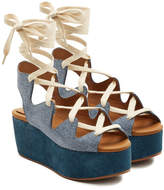 See by Chloe Espadrille Wedge Sandals